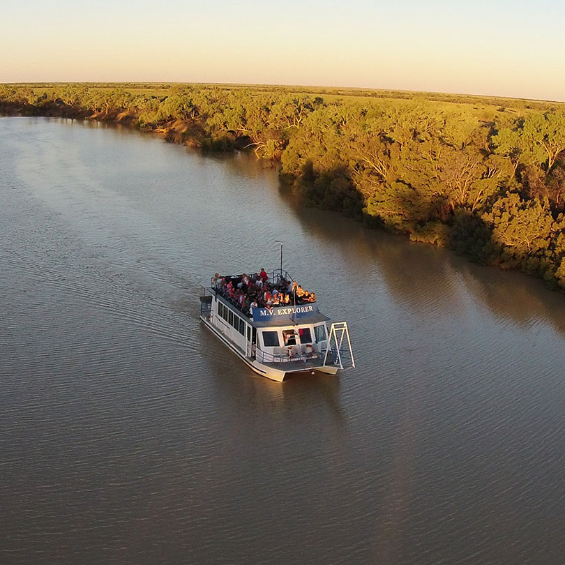 Thomson River Drovers sunset cruise